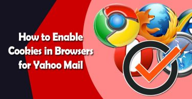 Enable Cookies in Browsers for Yahoo Mail