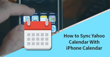 sync Yahoo calendar with iphone