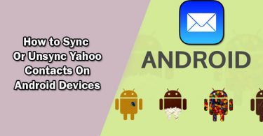 sync Yahoo contact with android