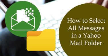 How to Select All Messages in a Yahoo Mail Folder