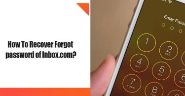 How to Recover Forgotten Password of Inbox.com