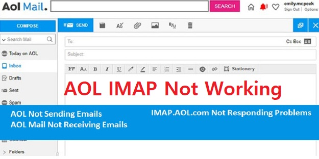 AOL IMAP Not Working