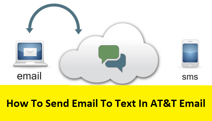 at&t email to text