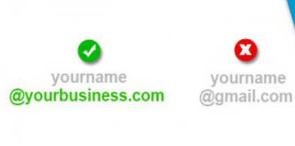 business email domain
