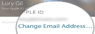 change email in icloud