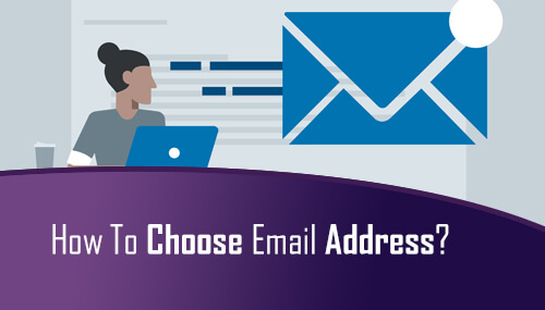 Choose An Email Address