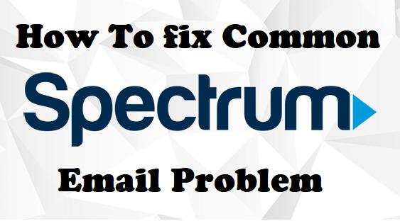 Spectrum Email Problems