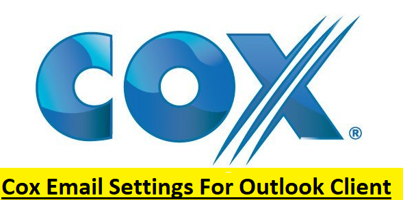 Cox Email Settings For Outlook Client