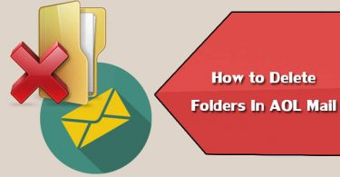 Delete Folders in AOL Mail