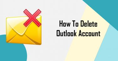 Delete Outlook Account