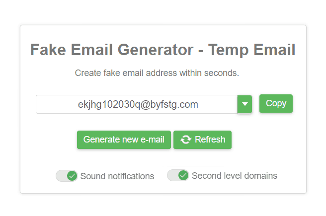 10 Best Fake Email Generators List [UPDATED 2020]
