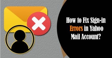 yahoo mail sign in errors
