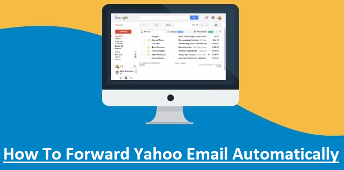 forward yahoo email automatically