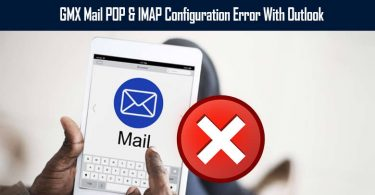 GMX Mail Configuration Error With Outlook
