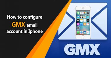 How to Configure GMX Email Account On iPhone?