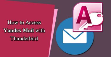 How to Access Yandex.Mail With Thunderbird