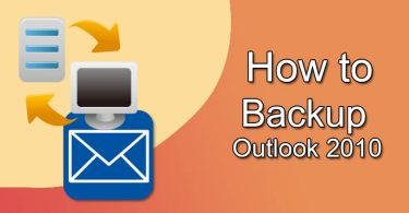 Backup Outlook 2010