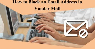 How to Block an Email Address In Yandex Mail