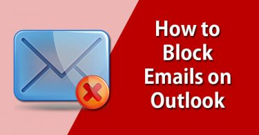 Block Emails in Outlook