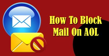 Block Emails on AOL