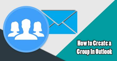 Create Email Group in Outlook