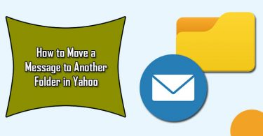 How to Move a Message to Another Folder in Yahoo Mail