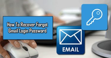 How To Recover Forgot Gmail Password