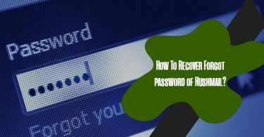 How To Recover Forgot Password Of Hushmail?