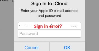 Fix Common iCloud Email Login Error
