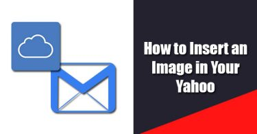 Insert an Image in Yahoo Email signature