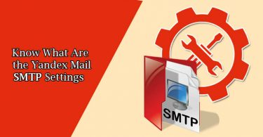 Yandex Mail SMTP & POP Settings For Outlook Configuration