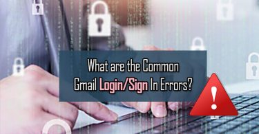 Gmail Account Login Errors?