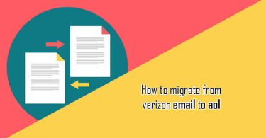 How to Migrate Verizon Email to AOL?