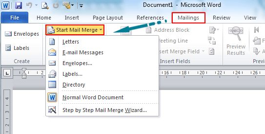 Outlook Mail Merge