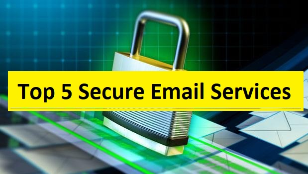 top 5 secure email service