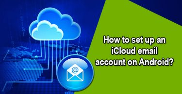 setup an icloud email on android
