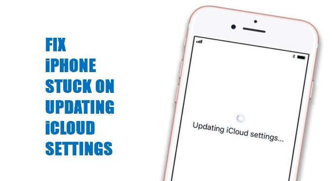 Updating iCloud Settings