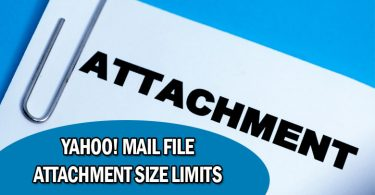 How To Send Large File From Yahoo Mail