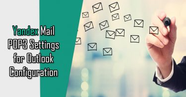 Yandex.Mail POP3 Settings for Outlook Configuration